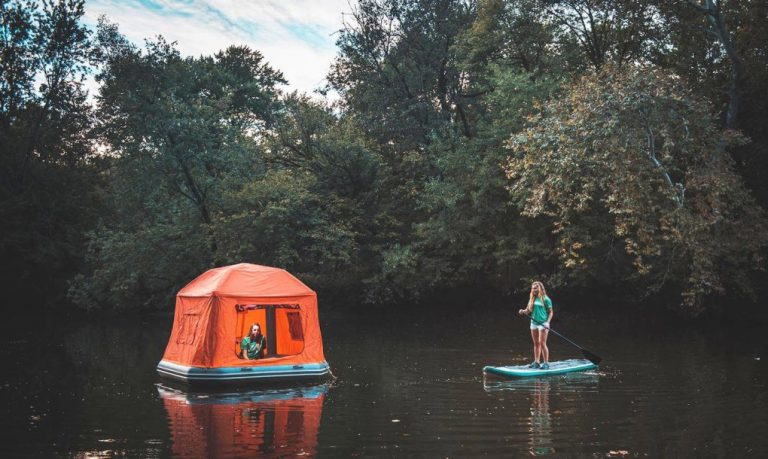 With The Worlds First Floating Tent You Can Live in Nature Forever - 2