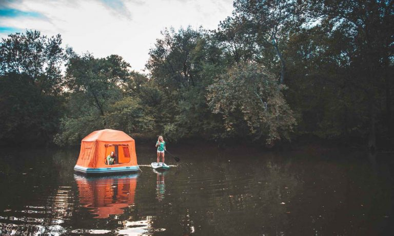 With The Worlds First Floating Tent You Can Live in Nature Forever - 4