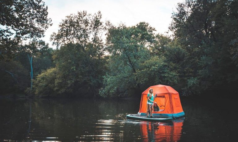 With The Worlds First Floating Tent You Can Live in Nature Forever - 6