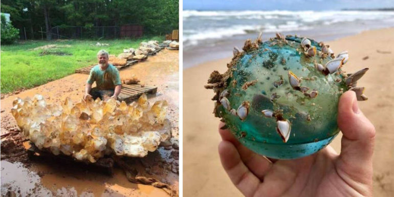 10 Lucky People Who Found the Rarest Things