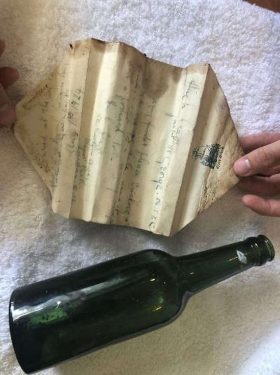 10. Message in a bottle