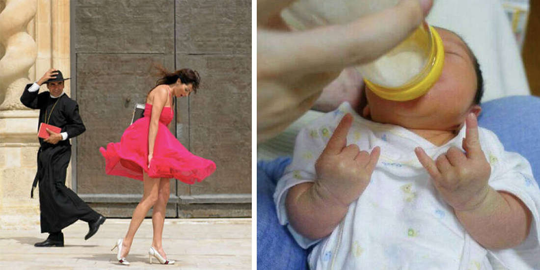 11 Photos Which Couldn't Be More Perfectly Timed