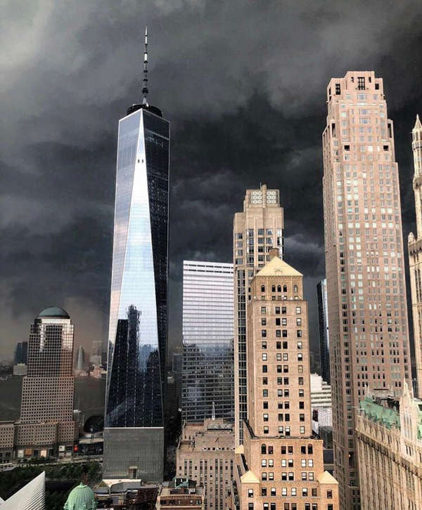 2. A storm in New York