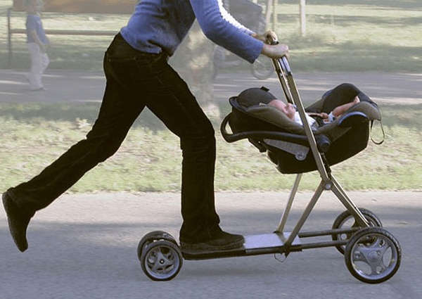 3. Parenting is a healthy work-out