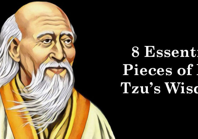 8 Essential Pieces of Lao Tzu's Wisdom