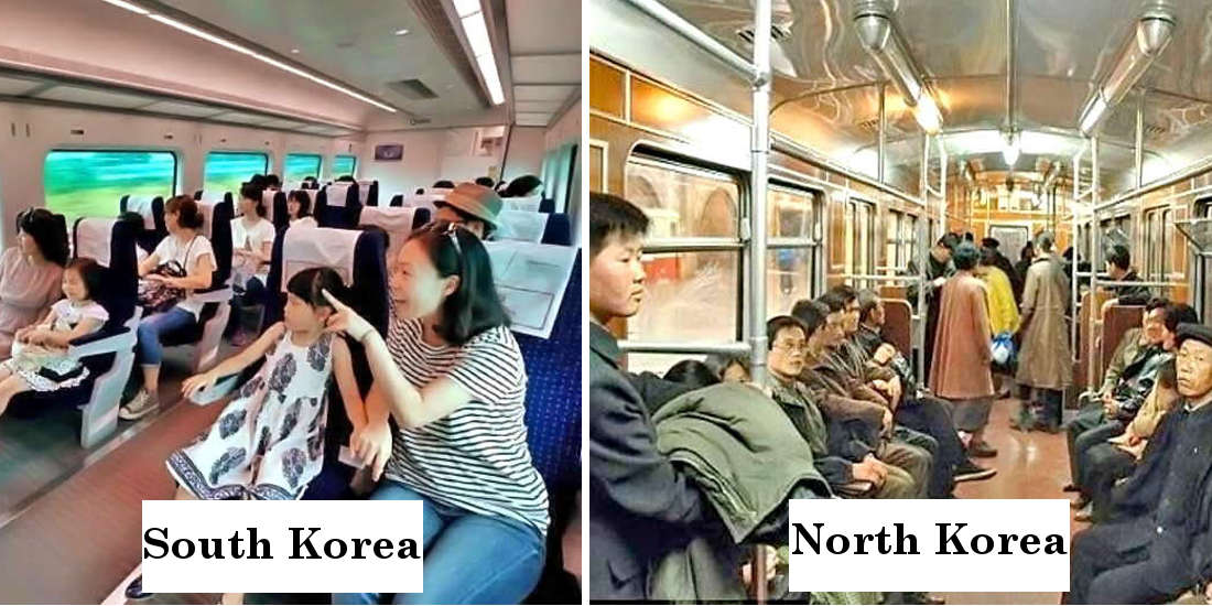 8 Photos That Show The Difference Between South And North Korea