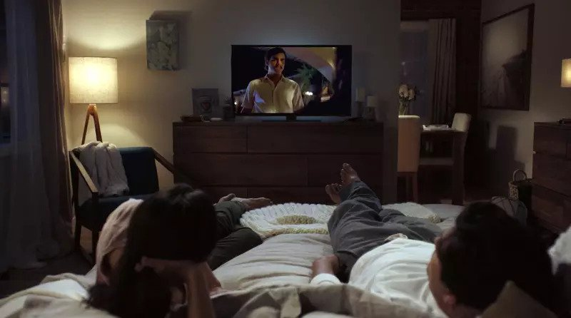 9. Enjoy watching TV shows together