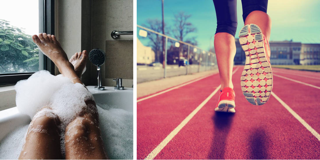 According To Science A Hot Bath Burn As Many Calories As A Run