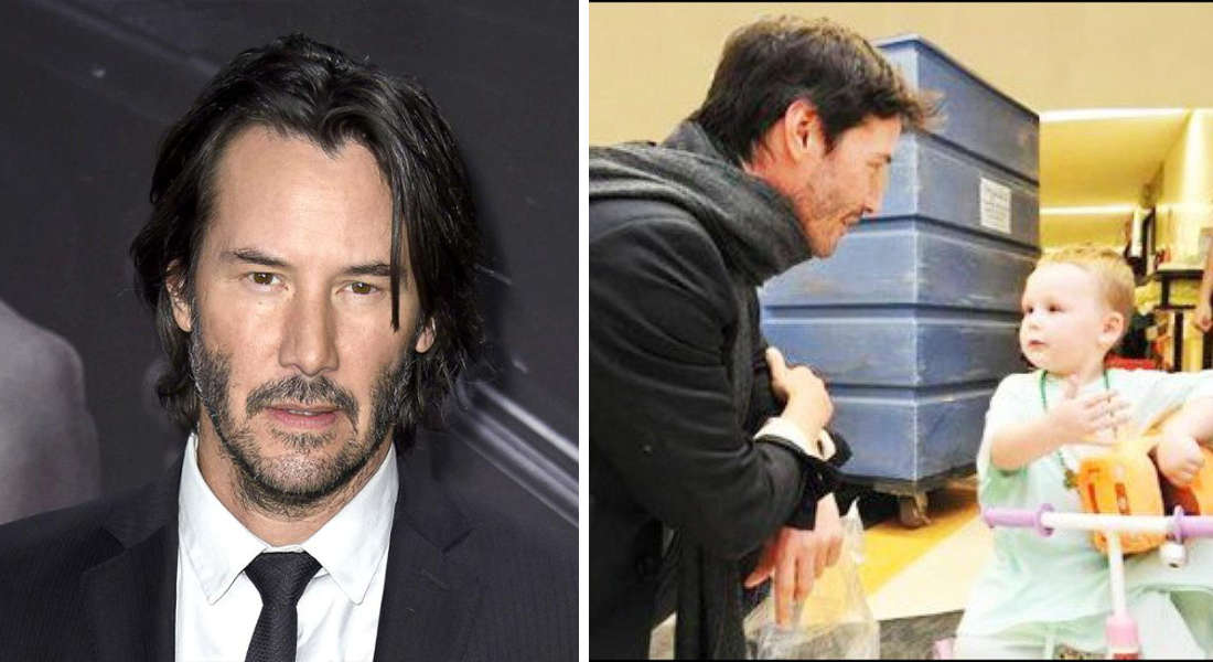 Hollywood Star Keanu Reeves Secretly Finances Children's Hospitals