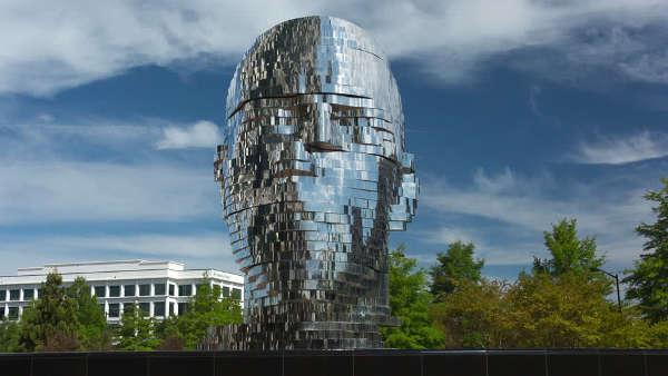 Metalmorphosis The Mirror Fountain in the USA