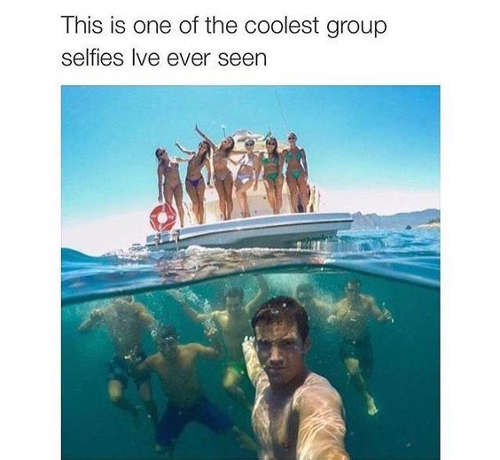 The Group-fie