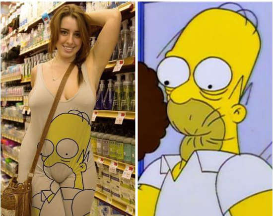 The Simpson dress