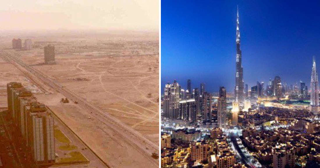 Then And Now Breathtaking Photos Of Famous Cities