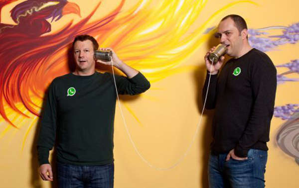 WhatsApp by Jon Koum and Brian Acton