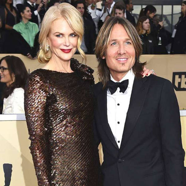 1) Nicole Kidman and Keith Urban