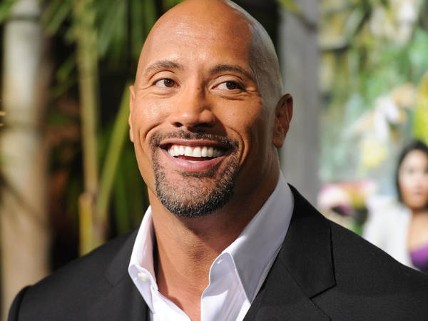 1. Dwayne Johnson