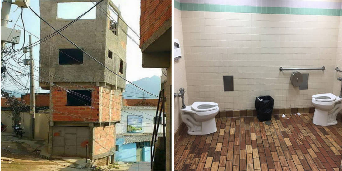 10 Epic Design Fails That Contradicts Common Sense
