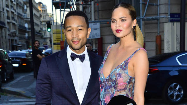 2) Chrissy Teigen and John Legend