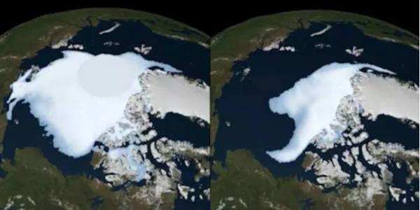 2. Shrinking Of Arctic Ice