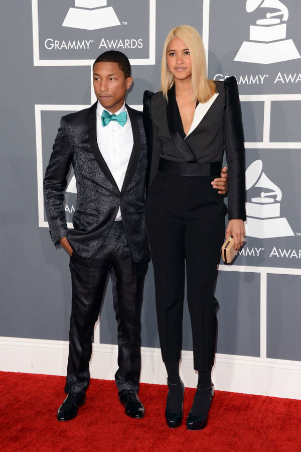 3) Helen Lasichanh and Pharrell Williams