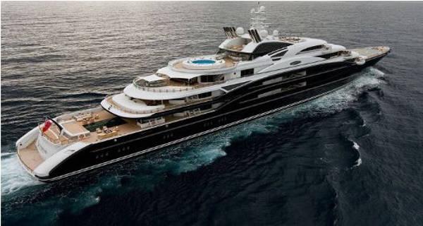 3. Robert Kuok Yacht