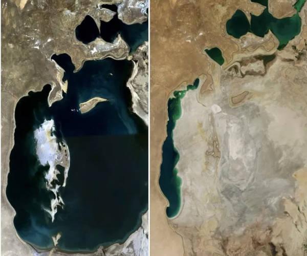 4. Aral Sea