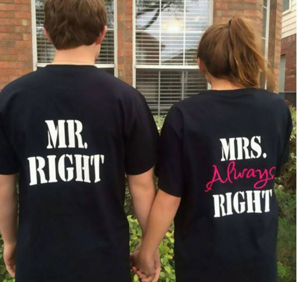 5. Mrs Always Right