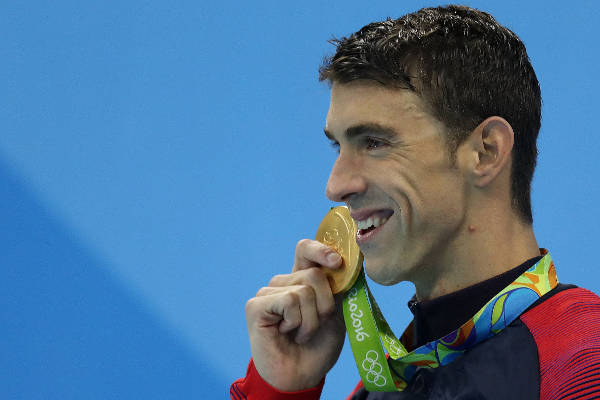 7. Michael Phelps