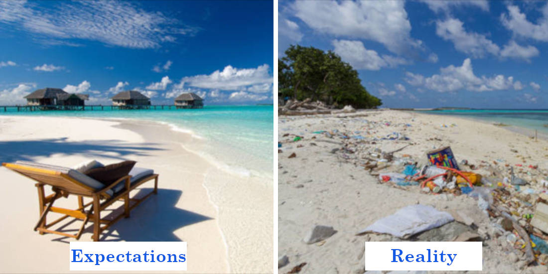 8 Photos That Sum Up Your Travel Expectations Vs Reality