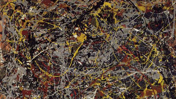 8. Jackson PollockPainting