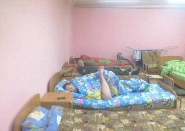 9. Sleepy legs