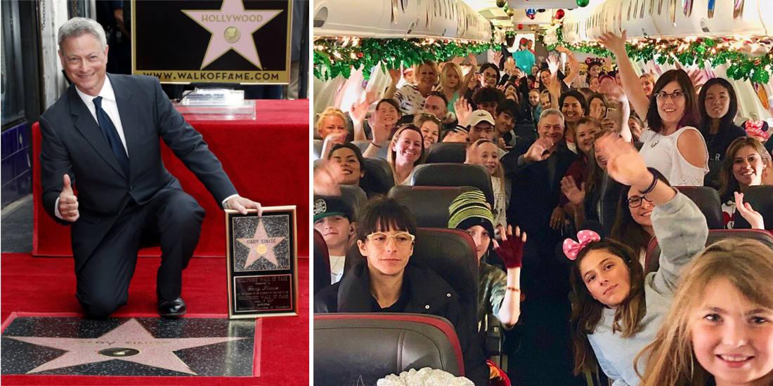 Actor Gary Sinise Flies Kids Of Fallen Soldiers To Disney World
