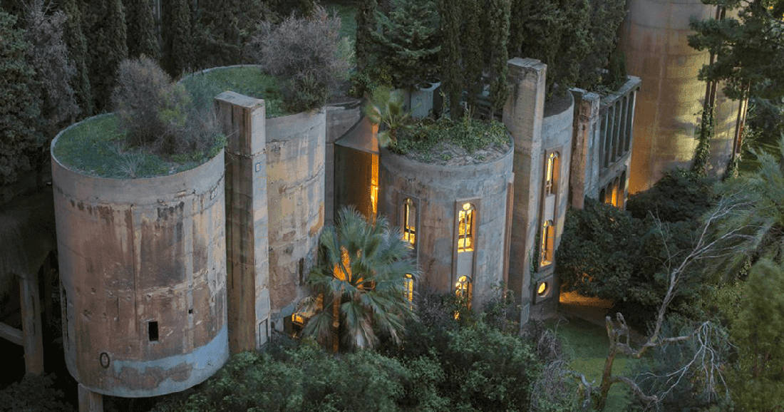 Architect Turns Old Cement Factory Into His Home, And The Interior Is Mindblowing