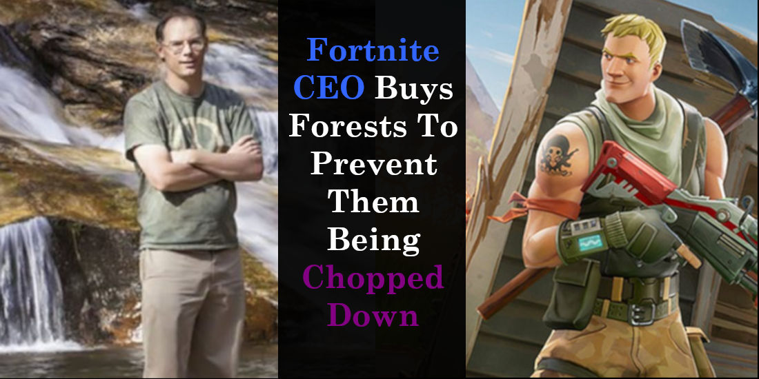 Fortnite CEO Buys Forests To Prevent Them Being Chopped Down