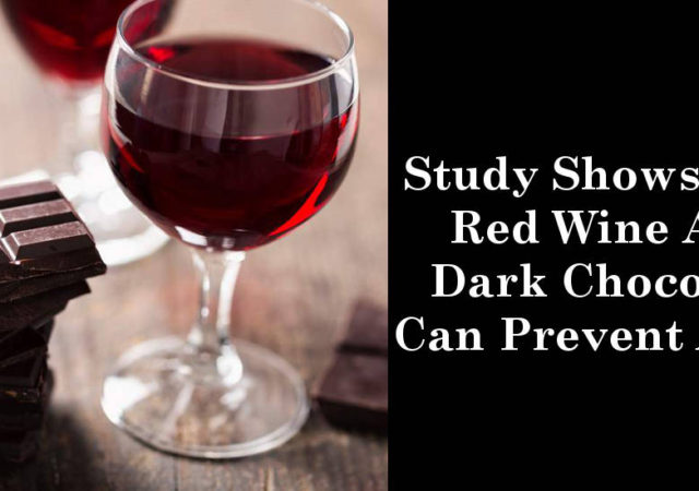 Study Shows That Red Wine And Dark Chocolate Can Prevent Aging