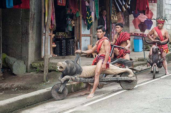 This Native Tribe In The Philippines Creates Hand-Carved Wooden Bikes - 1