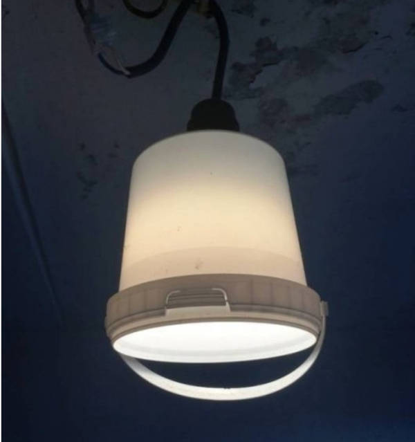 2. Bucket Lamp