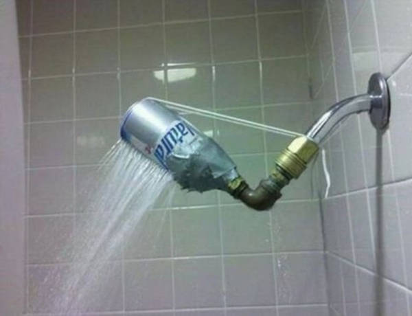 5. Unusual Shower