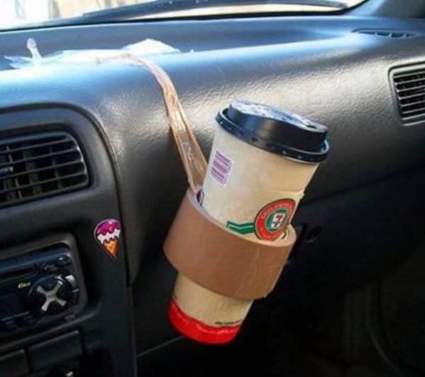 6. A Nice Coffee Holder