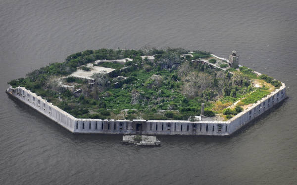 8. Fort Carroll Island
