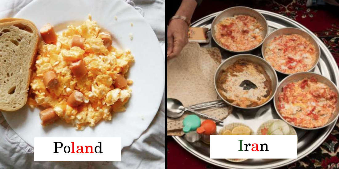 Different Breakfasts From Around the World