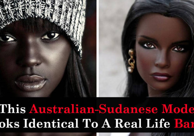 This Australian-Sudanese Model Looks Identical To A Real Life Barbie