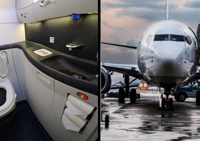 What Happens When You Flush An Airplane Toilet