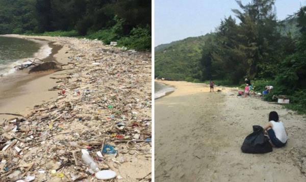 1. Clean Beach