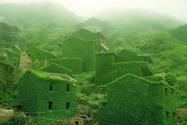 10. Fishing Village in Shengsi, China