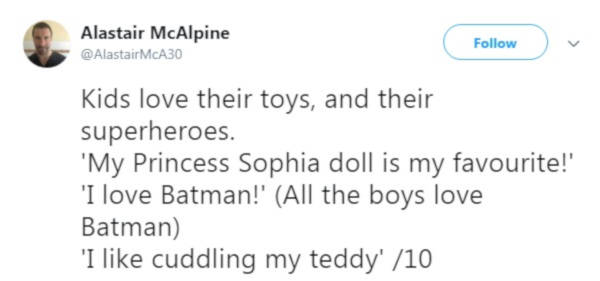 10. Toys are meaningful to children.
