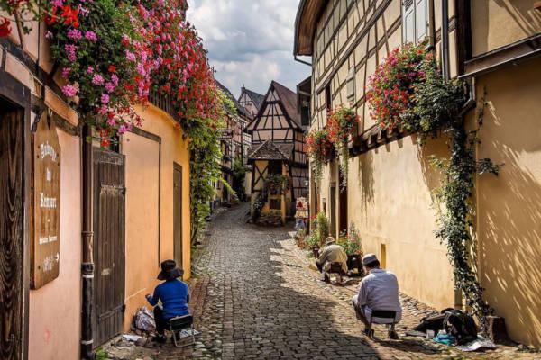 12. Eguisheim in France