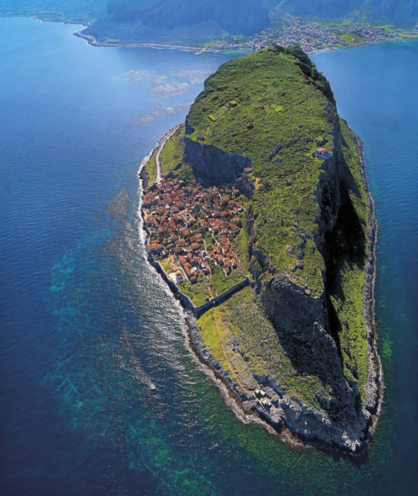 14. Monemvasia in Greece