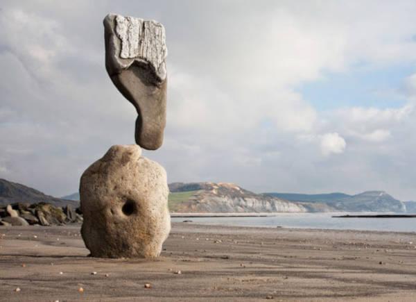 19. Stone Balancing By Adrian Gray