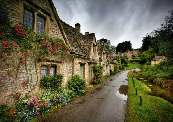 2. Bibury in the United Kingdom